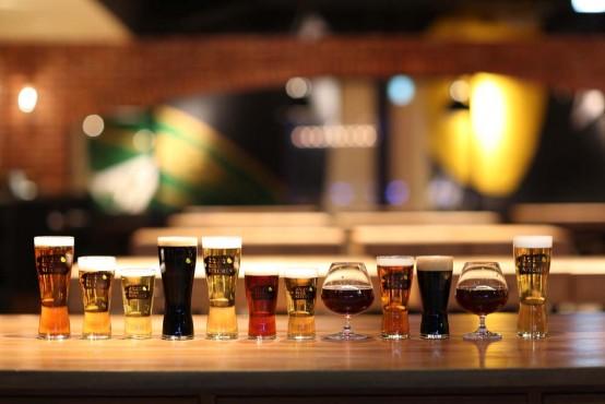 ビール陳列