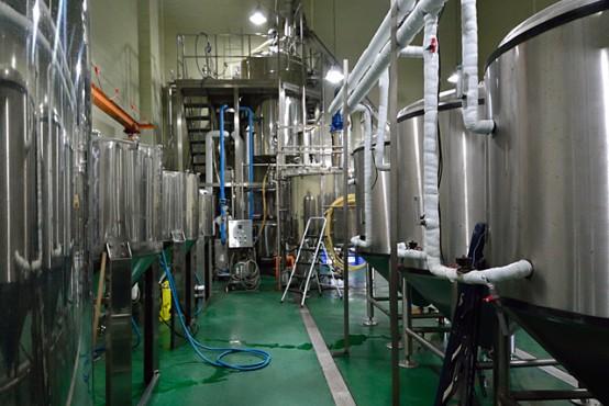 醸造設備。