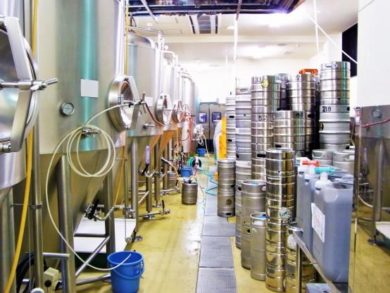 今年は限定ビールの増産が決定(写真はH27.7取材時のもの)