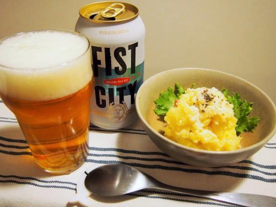 FIST CITY(フィストシティ) × 飲兵衛のポテサラ