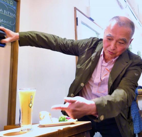 ビール王国で活躍中の柴田氏。読者の方なら知らずのうちに柴田氏の写真に触れているはずだ