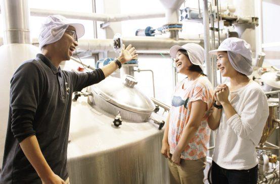 大人の醸造所見学ツアー(仕込み室)