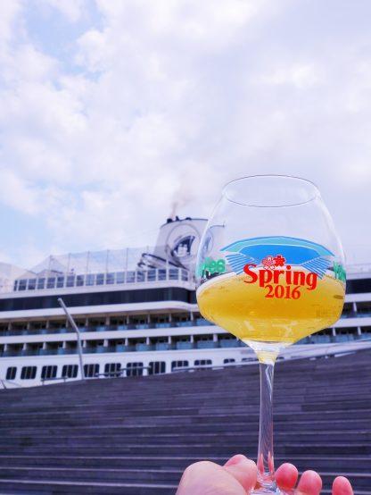 特注のアロマグラスで、ビールがもつ魅力を5感で感じ尽そう!
