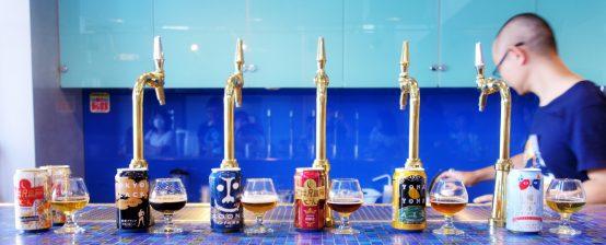 この日は発売直後の「軽井沢高原ビール 秋限定」が試飲できた。ビアスタイルはアルトだ!