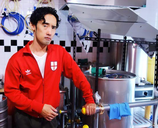 風上麦酒製造代表であり、ブルワーの田上達史氏。ビール界に新風を吹かすことを期待したい!
