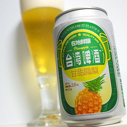 台湾啤酒 甘甜鳳梨