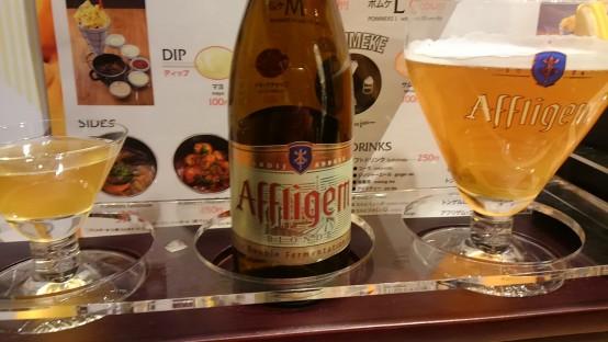 元ベルギー王国大使館の料理長であったバルト・サブロン氏の出身地のビール、アフリゲムも楽しめる。 バルト氏は就労ビザが下り次第ポムケ外苑前店の総料理長に就任予定。