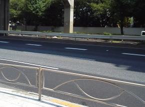 甲州街道(国道20号線)初台。