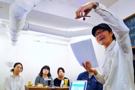 中澤氏の熱のある講義に参加者も惹き込まれていく