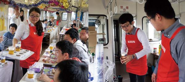 関鉄ビール列車