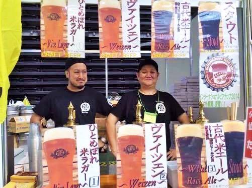 主催・企画を務める田村氏(左)と仙南クラフトビール岡ブルワー(右)