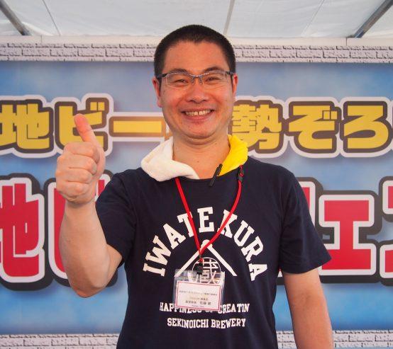 世嬉の一酒造株式会社代表取締役 佐藤 航 (さとう わたる)さん