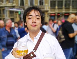 趣味は醸造所やビアパブ巡りだという新井氏。昨年はアメリカの醸造を巡ってきた