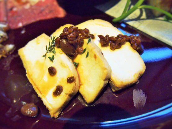 クリームチーズを醪(もろみ)入りの醤油地に漬けたそうですよ♪