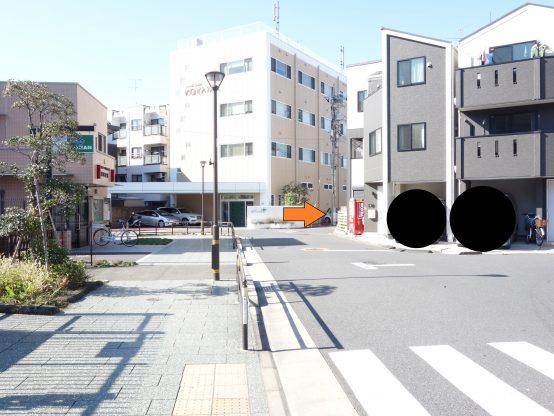 千住大橋駅周辺は工場が多い地域