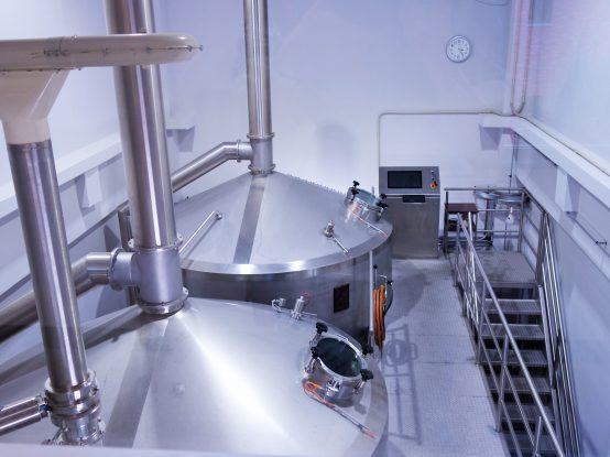 これまでの倍の醸造量で仕込めるようになったとのこと。機械化も進み、作業効率も良くなった