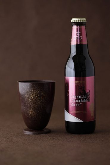 サンクトガーレンチョコレート製グラス&チョコビール