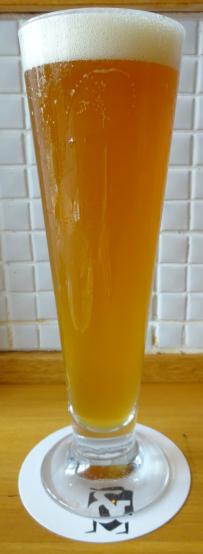 高円寺 アンドビール にて 自家製ビール開栓 日本ビア