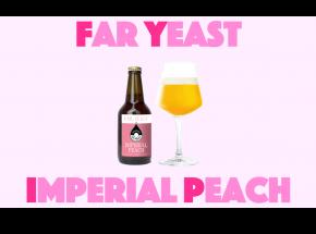 Far Yeast Brewing 源流醸造所×海外コラボレーションビール第2弾限定醸造「Far Yeast Imperial Peach」発売