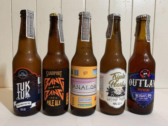 Thai craft bottles