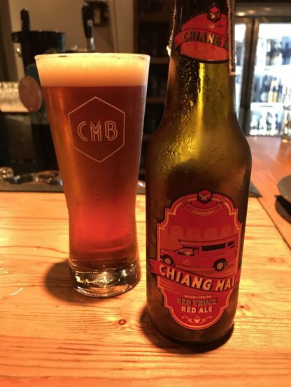 Chiang Mai BreweryのRed Truck Red Ale