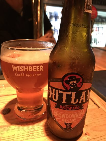 Outlaw BrewingのShowdown IPA