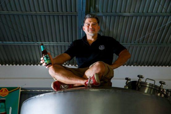 7 Bridges Brewing CEOのスタンレーさん