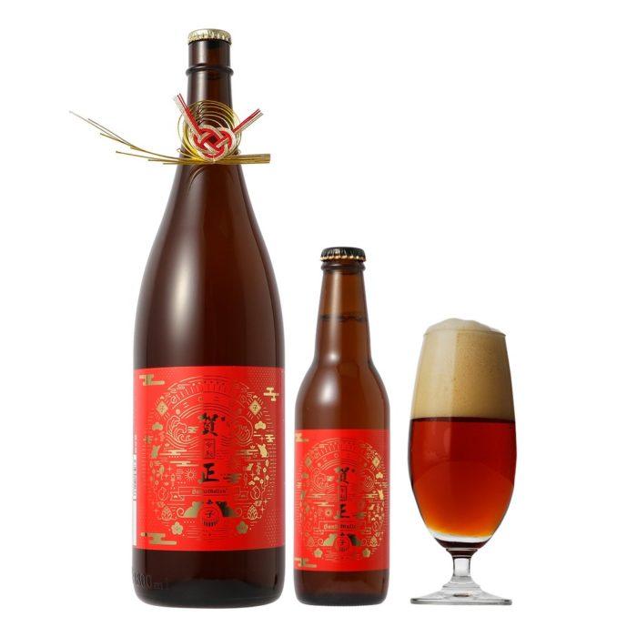 一升瓶ビール、330mlビール