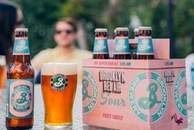 トロピカルフルーツのような香りと爽やかな酸味が爽快に楽しめるサワービール「BROOKLYN BEL ... 画像