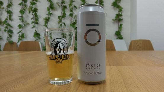 oslo brewingのnordic pilsner