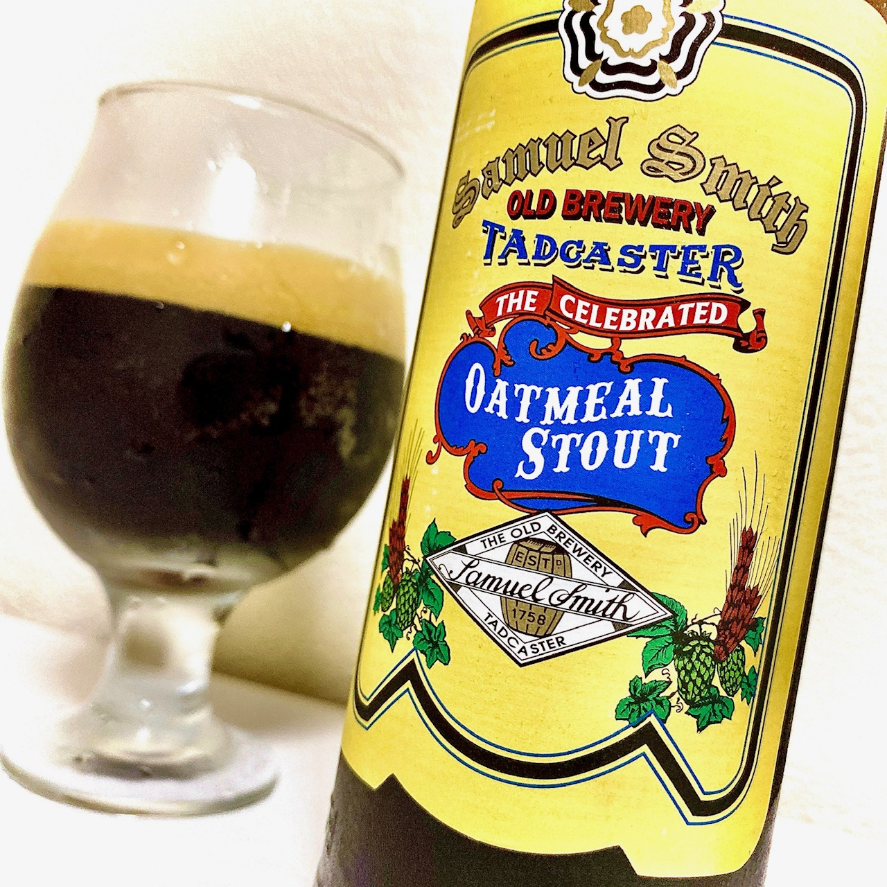 Samuel Smith Old Brewery「Samuel Smith's Oatmeal Stout」