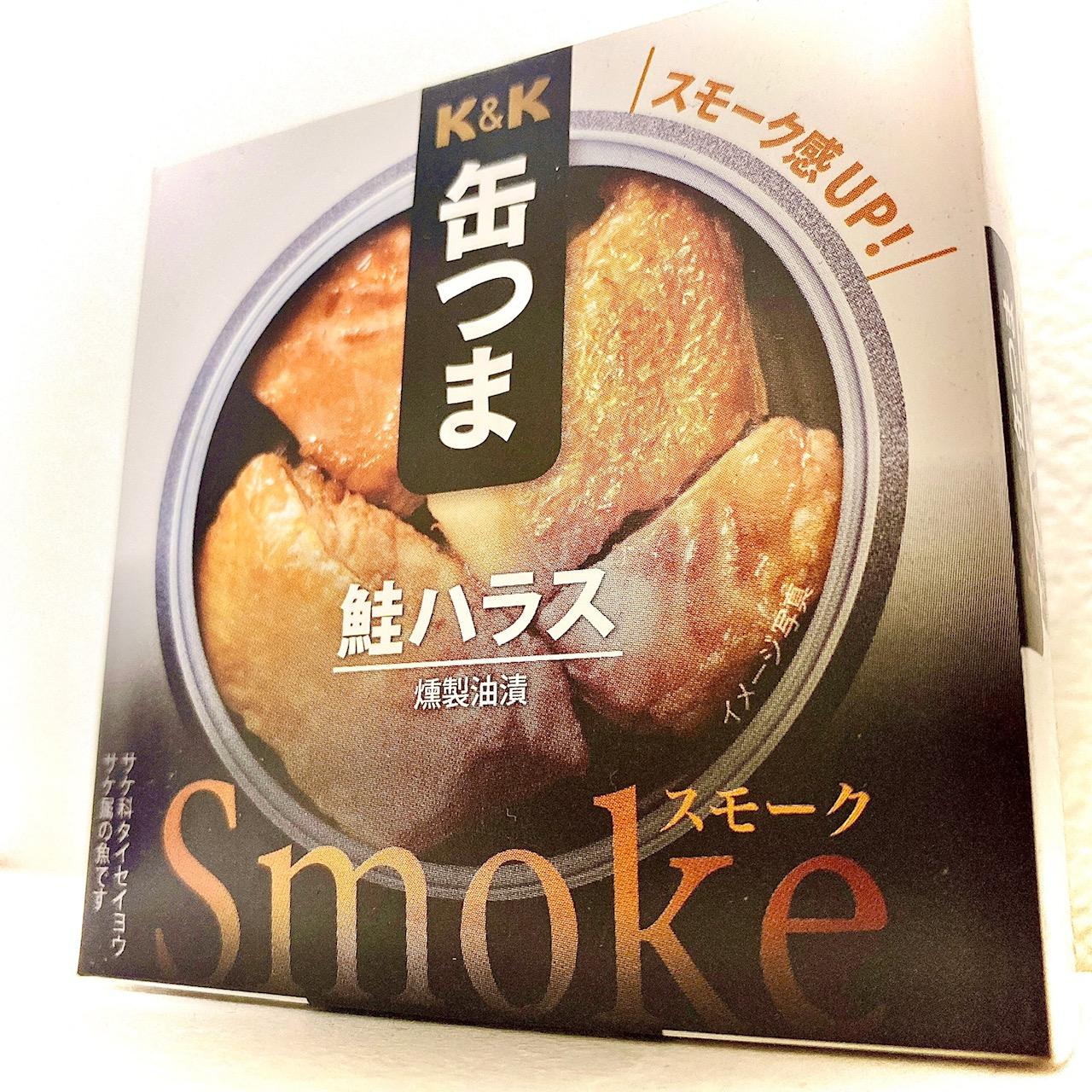 K&K 缶つま 鮭ハラス