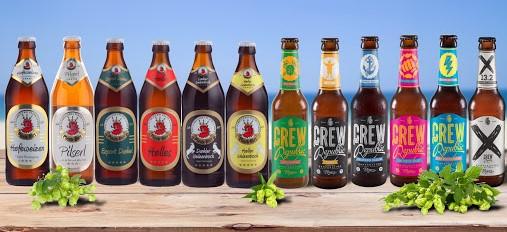同社が輸入する「PLANK」及び「CREW Republic」醸造所のビール