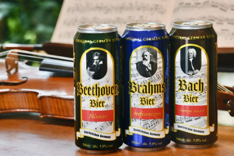 ドイツ三大作曲家ビール