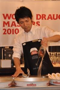 二位に入賞した長沢篤さん