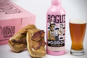 VOODOO DOUGHNUT Bacon Maple Ale&Bacon Maple Bar Doughnut
